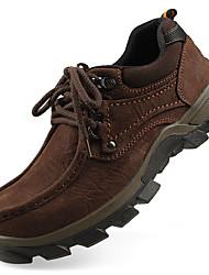 Недорогие -Мужские оксфорды осень зима формальная обувь наппа кожа открытый офис&Карьера участника&Вечерний случайный