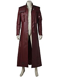 cheap -Star-Lord Cosplay Costume Party Costume Movie Cosplay Tops Halloween Carnival Children's Day New Year Oktoberfest Fur