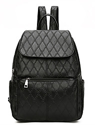 cheap -Women Bags Other Leather Type Backpack for Casual All Seasons Black