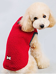 cheap -Cat Dog Sweater Dog Clothes Solid Colored Red Blue Cotton Costume For Pets Men's Women's Keep Warm