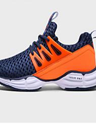 Sportssko-Tyl PU-Komfort Lysende såler-Herrer--Udendørs Fritid Sport-Flad hæl