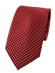 cheap -Men's Work Polyester Necktie - Jacquard