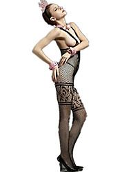 Women's Suits Nightwear,Sexy Lace Jacquard-Thin Rayon Spandex