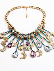 cheap -Women's Statement Necklace - Drop, Moon, Star Personalized, Unique Design Rainbow Necklace Jewelry For Housewarming, Congratulations, Casual