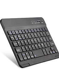 baratos -7 polegadas mini teclado sem fio bluetooth para ios / android / windows bluetooth 3.0 preto / branco com cabo usb