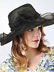 Women's Polyester Mesh Bucket Hat Sun Hat,Cute Casual Spring Summer