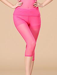 economico -Danza del ventre Pantaloni Per donna Prestazioni Tulle Naturale Pantaloni