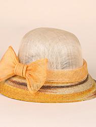 Vimini Lino Copricapo-Matrimonio Occasioni speciali Casual Formale Cappelli 1 pezzo