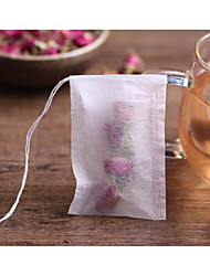 cheap -100Pcs/Lot Teabags 5.5 X 7Cm Empty Scented Tea Bags With String Heal Seal Filter Paper For Herb Loose Tea