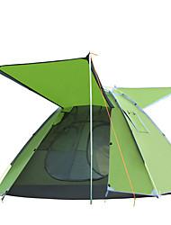 2 persone Tenda Singolo Tenda da campeggio Una camera Pop up tenda Antiumidità Ompermeabile Antivento Anti-pioggia per Escursionismo