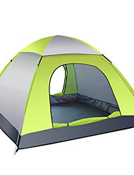 cheap -3-4 persons Tent Tent Accessories Single Camping Tent One Room Fold Tent Keep Warm Moistureproof/Moisture Permeability Well-ventilated