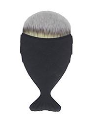 お買い得  ファウンデーションブラシ-1 ファウンデーションブラシ 人工毛 合成 携帯式 プラスチック 顔 その他