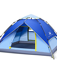 preiswerte -GAZELLE OUTDOORS 3-4 Personen Zelt Doppel Camping Zelt Einzimmer Drei Zimmer Automatisches Zelt Wasserdicht Windundurchlässig