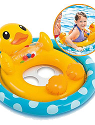 cheap -Inflatable Pool Float Donut Pool Float Swim Rings Toys Circular Bird Plastic Girls' Boys' Pieces