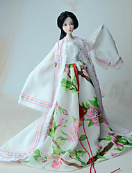 cheap -Dresses For Barbie Doll Coat Dress For Girl's Doll Toy