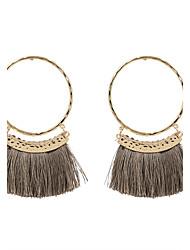 cheap -Women's Tassel Drop Earrings - Personalized, Tassel, Fashion Gray / Red / Dark Red For Wedding / Anniversary / Housewarming