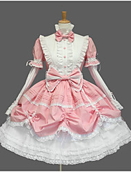cheap -Sweet Lolita Dress Princess Women's Girls' One Piece Dress Cosplay Cap Short Sleeves Short / Mini