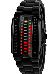 baratos -Homens Digital Relogio digital Único Criativo relógio Relógio de Pulso Relógio inteligente Relógio Esportivo Chinês Cronógrafo Mostrador
