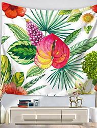 Недорогие -Декор стены 100% полиэстер С узором Природа Предметы искусства, Стена Гобелены из 1