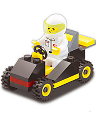 cheap -Toy Car Building Blocks Block Minifigures Others Tank Race Car DIY Creative Race Car Boys' Unisex Toy Gift
