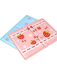 cheap -Cat Dog Bed Pet Mats & Pads Fruit Wateproof Double-Sided Foldable Durable Blue Blushing Pink