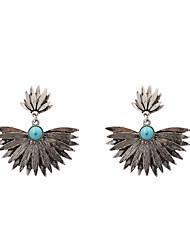 cheap -Fashion Women Metal Drop Earrings