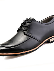 cheap -Men's Shoes PU Spring Fall Formal Shoes Oxfords For Casual Office & Career Black Yellow