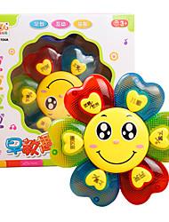 Недорогие -Аксессуары для кукольного домика Игрушка для обучения чтению Обучающая игрушка Цветы Пластик Детские Игрушки Подарок