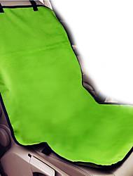 Недорогие -Собака Чехол для сидения автомобиля Животные Одеяла Однотонный Компактность Складной Черный Розовый Красный Зеленый Синий