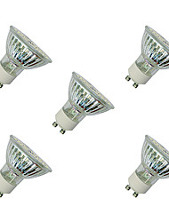 cheap -3W GU10 LED Spotlight MR16 60 SMD 3528 280-320 lm Warm White White 3000-3500/6000-6500 K V