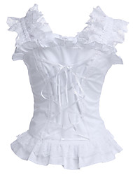 cheap -Corset Classic Lolita Dress Lolita Accessories Blouse Cotton