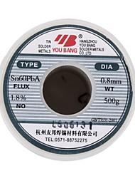 Aia активный провод припоя sn60pba - 0,5 мм - 500 г / объем