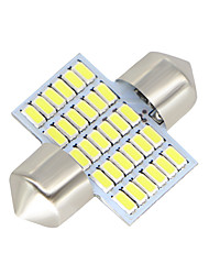 economico -2x-festoon-31mm-30-smd-3014-bianco-led-car-dome-lampadina-lampadine-3021-6428-de3175 12-24v