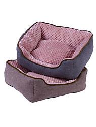 preiswerte -Hund Betten Haustiere Matten & Polster Solide Warm Wasserdicht Weich Grau Braun Für Haustiere