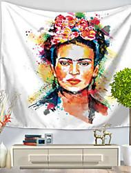 Недорогие -Люди Декор стены 100% полиэстер Ретро Предметы искусства, Стена Гобелены Украшение