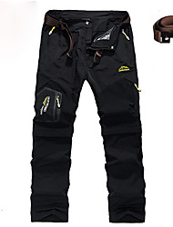 Herrn Wanderhosen Anti-tragen Wasserdicht Rasche Trocknung Abnehmbar Unten für Jagd Klettern Camping & Wandern Draußen XL XXL XXXL 4XL 5XL
