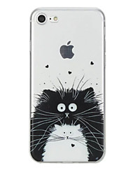 For iPhone X iPhone 8 Case Cover Pattern Back Cover Case Cat Animal Soft TPU for Apple iPhone X iPhone 8 Plus iPhone 8 iPhone 7 Plus