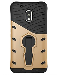 cheap -Case For Motorola Shockproof with Stand Back Cover Armor Hard PC for Moto Z Force Moto Z Moto X Play Moto G5 Plus Moto G5 Moto G4 Plus