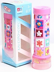 cheap -Kaleidoscope Toys Cylindrical Plastics Pieces Kid Children's Day Gift