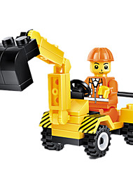 cheap -JIE STAR Toy Cars Building Blocks Construction Vehicle Square Unisex Gift