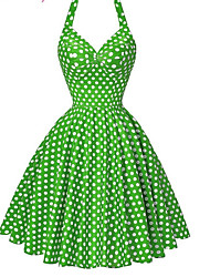 cheap -Women's Beach / Holiday Vintage Cotton Sheath / Swing Dress - Polka Dot Polka Dots High Rise Strap