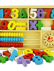 Недорогие -Конструкторы Игрушечные счеты Игрушки для обучения математике Обучающая игрушка Квадратный Экологичные Классика Игрушки Подарок