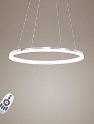 cheap -Modern Design Pendant Lights/20W High Quality LED Acrylic Single Ring/Fit for Living Room, Dining Room,Study Room/Office