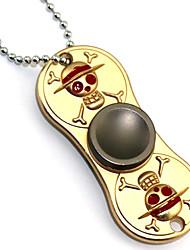 economico -Fidget Spinner Ispirato da One Piece Roronoa Zoro Anime Accessori Cosplay Cromo