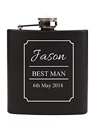 cheap -Non-personalized Material Stainless Steel Others Flask Hip Flasks Bride Groom Bridesmaid Groomsman Couple Parents Party Party / Evening