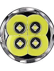 TM06S Lanternas LED LED 4000 lm 5 Modo Cree Recarregável Tamanho Compacto Regulável Campismo / Escursão / Espeleologismo Uso Diário