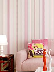 cheap -Contemporary Wallpaper Art Deco Stripes Self Adhesive Wallpaper Wall Covering Non-woven Fabric Wall Art