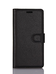 cheap -Case For ZTE Wallet / Card Holder / with Stand Full Body Cases Solid Colored Hard PU Leather for ZTE Nubia Z11 mini / ZTE Nubia Z7 Mini / ZTE Blade V7 Lite
