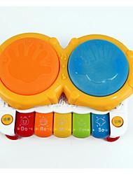 LED освещение Обучающая игрушка Игрушки Барабанная установка Детские Куски