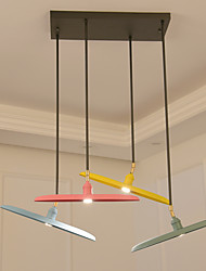 Pendant Light   Modern/Contemporary Painting Feature for LED Mini Style Designers MetalLiving Room Bedroom Dining Room Kitchen Study  A chandelier